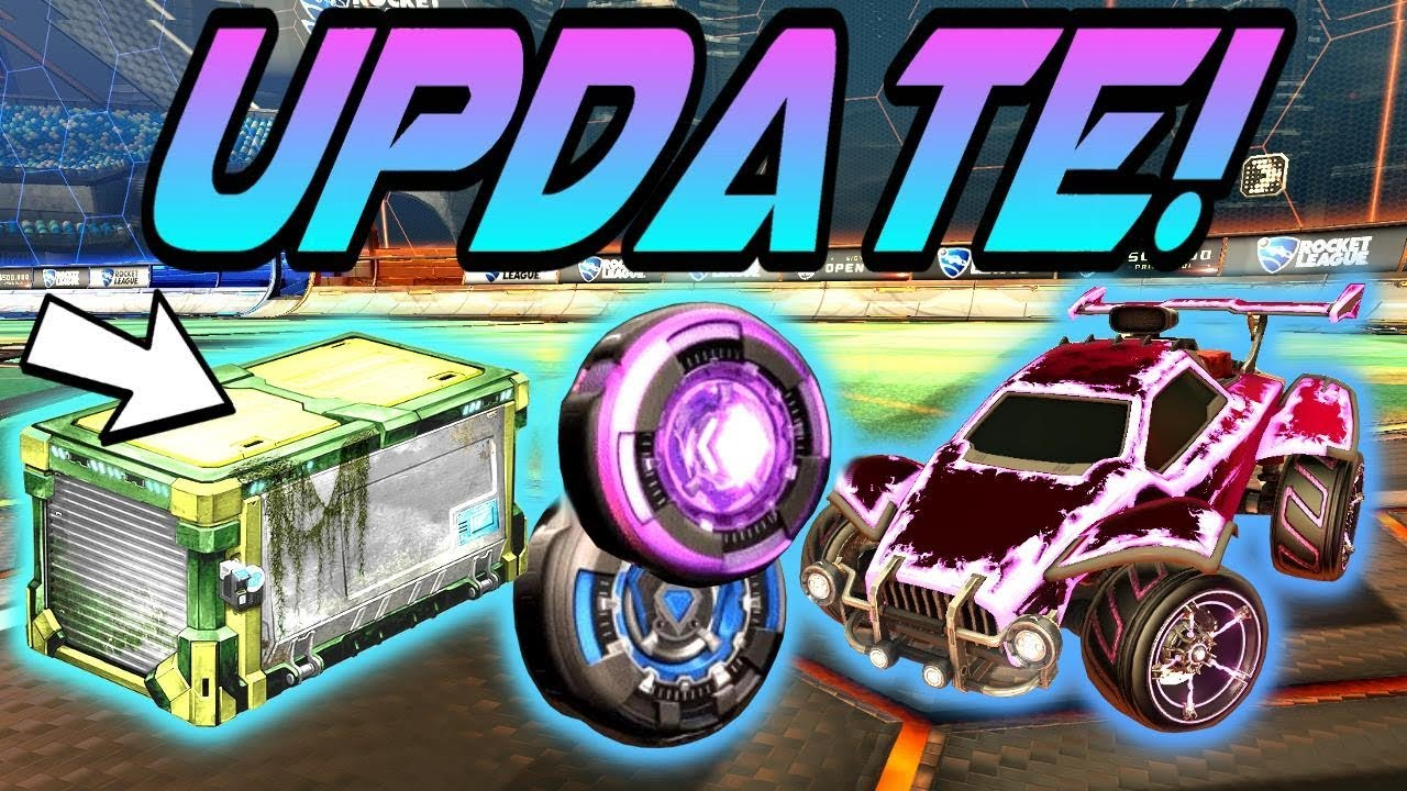 rocket league victory crates and feb update items